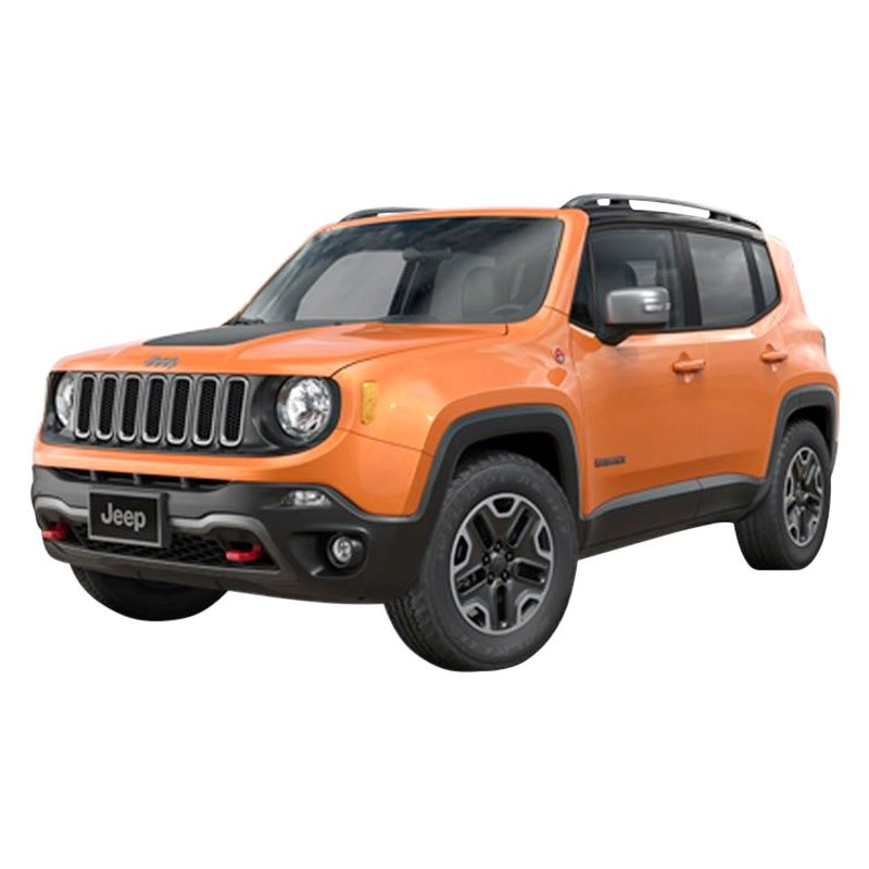 Black 2015 Jeep Renegade: Jeep Renegade 2015 Mirror Covers