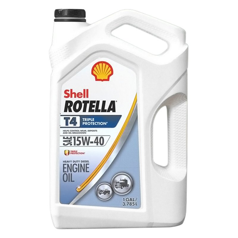 shell 550045128 rotella t4 triple protection 15w 40