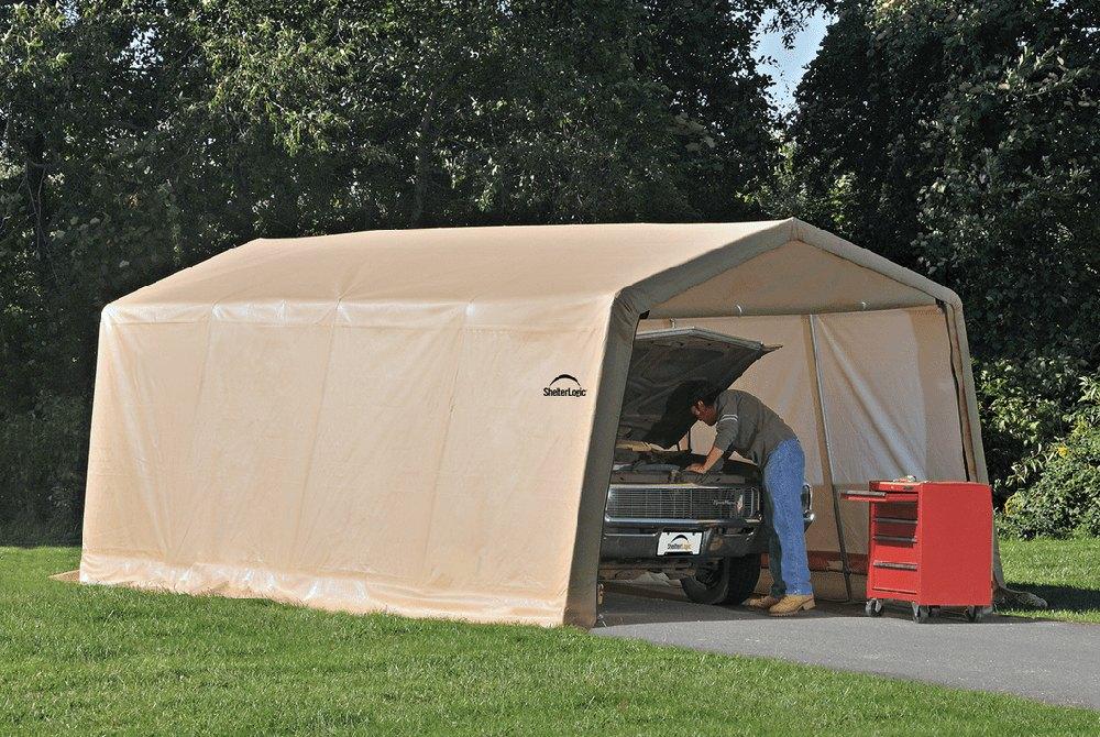 Shelterlogic 10 20 Garage : Shelterlogic autoshelter instant garage™