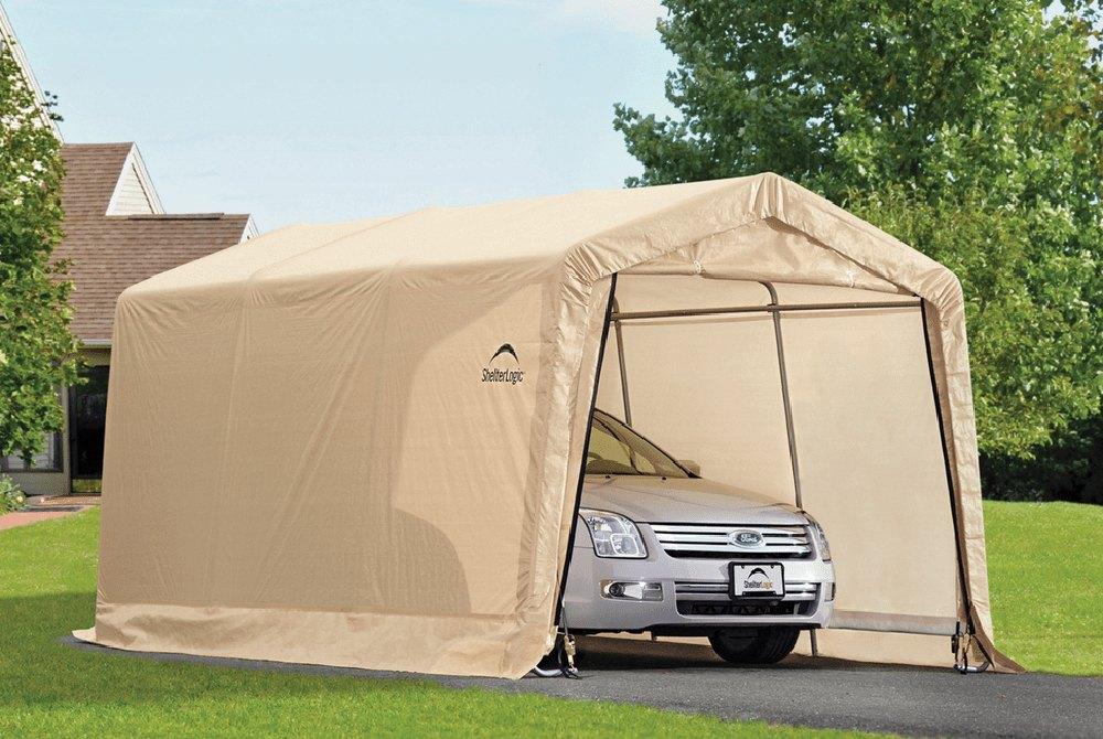 8x15 Instant Garage : Shelterlogic autoshelter instant garage™