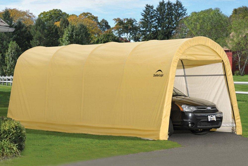 Shelterlogic Garage Replacement Covers 802622 : Shelterlogic autoshelter roundtop™ shelter