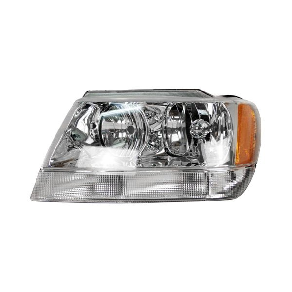 sherman jeep grand cherokee limited overland 2002 replacement headlight. Black Bedroom Furniture Sets. Home Design Ideas