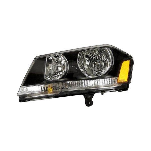 Dodge Replacement Headlights: Dodge Avenger 2008 Replacement Headlight