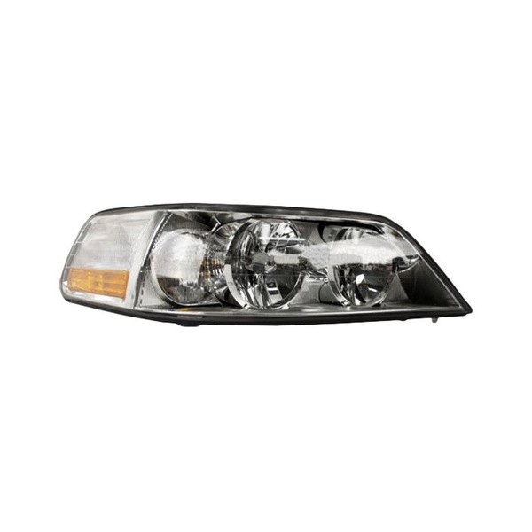 sherman lincoln town car with factory halogen headlights 2003 2004 replacement headlight. Black Bedroom Furniture Sets. Home Design Ideas