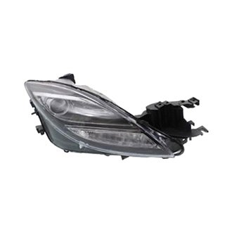 sherman mazda 6 with factory hid xenon headlights 2009 2010 replacement headlight lens and. Black Bedroom Furniture Sets. Home Design Ideas