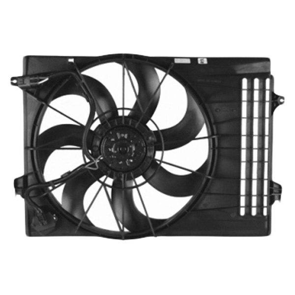 Motor Cooling Blades : Sherman hyundai tucson radiator fan