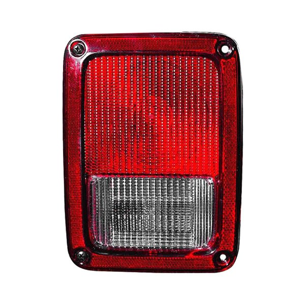 Jeep Tail Light Lenses : Sherman jeep wrangler  replacement tail light