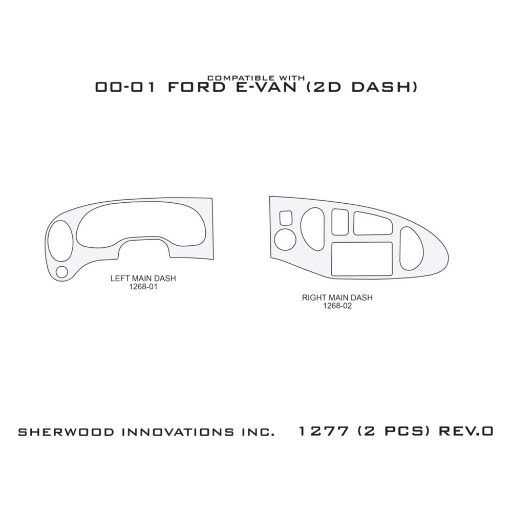Used Ford Econoline Dash Parts for Sale - Page 3
