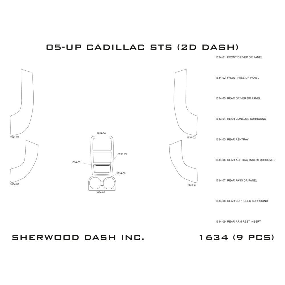 Sherwood® - 2D Upgrade Dash Kit