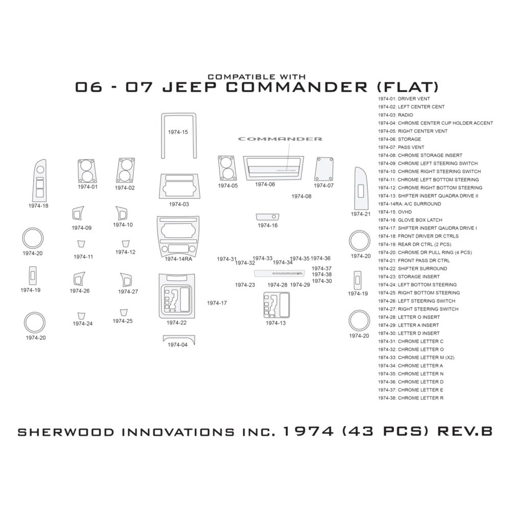 sherwood jeep commander with quadra drive i with. Black Bedroom Furniture Sets. Home Design Ideas