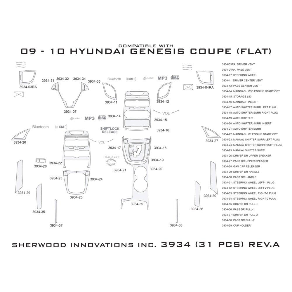 Hyundai Genesis Price Range: For Hyundai Genesis Coupe 10-12 2D Classic Brown Camo