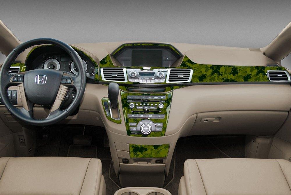 For Honda Civic Del Sol 93 97 2d Modern Green Camo