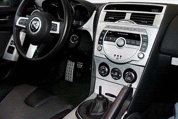 Sherwood carbon fiber dash kit - 2004 mazda 3 interior accessories ...
