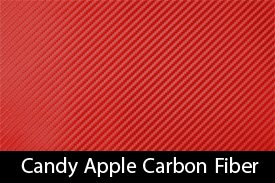 Candy Apple Red Carbon Fiber