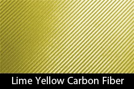 Lime Yellow Carbon Fiber
