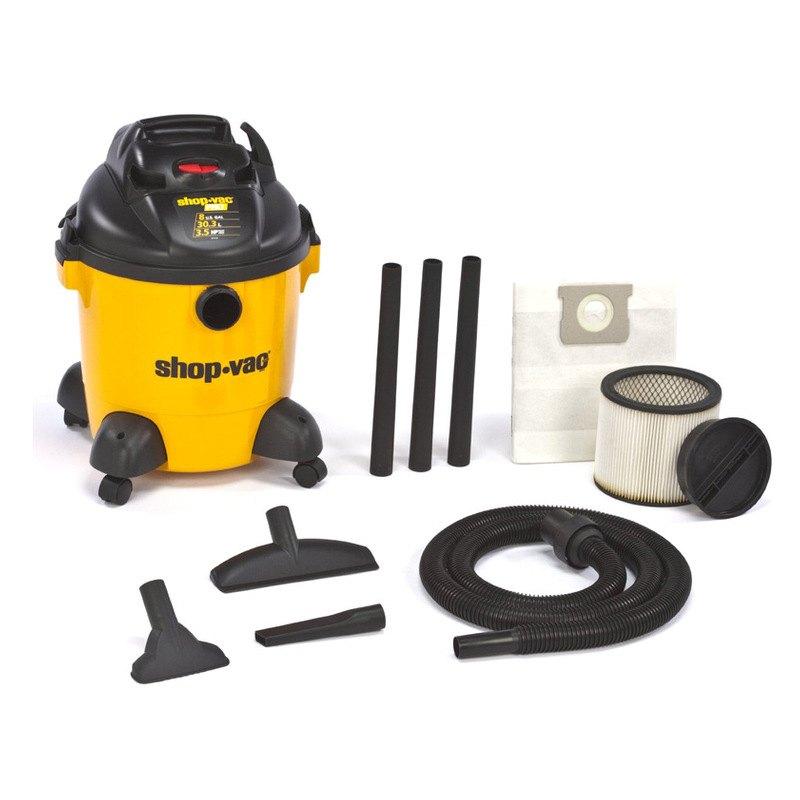 shop vac 9650800 8 gallon 3 5 peak hp shop vacuum. Black Bedroom Furniture Sets. Home Design Ideas
