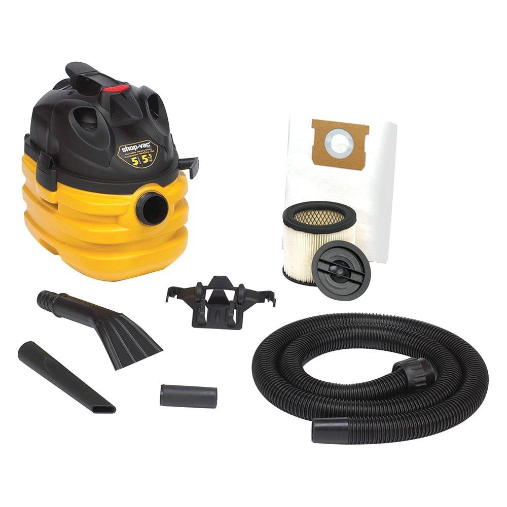 Shop Vac 5872462 5 Gallon Heavy Duty Portable Wet Dry Shopvac