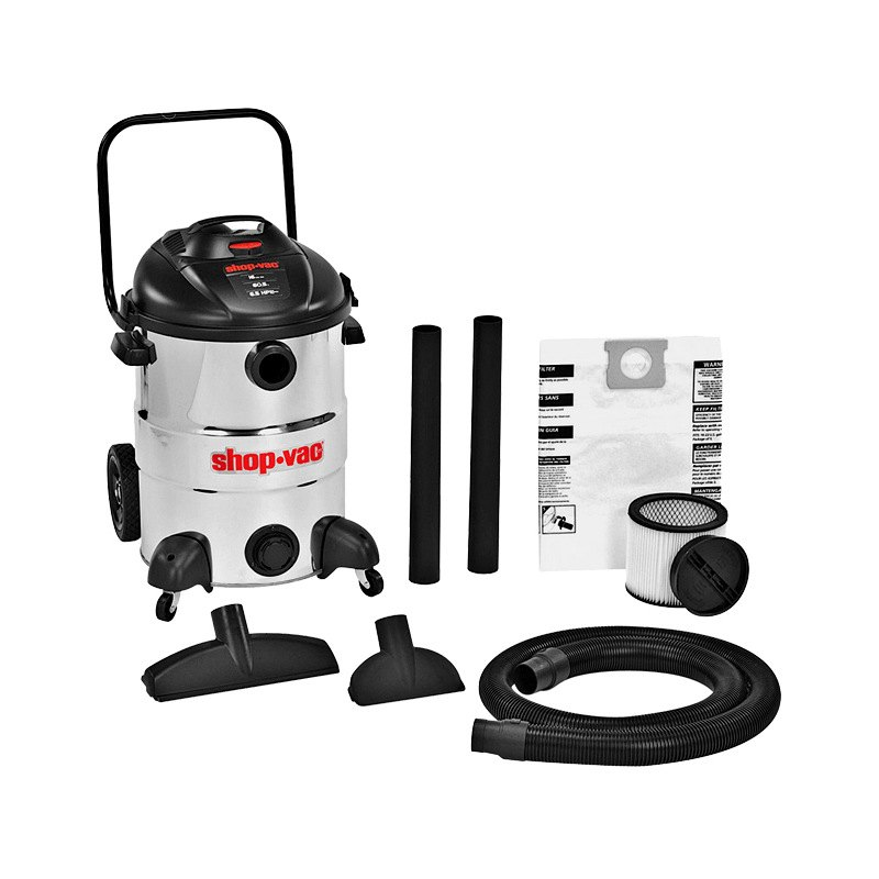 shopvac 12 gallon automotive stainless steel wetdry vacuum
