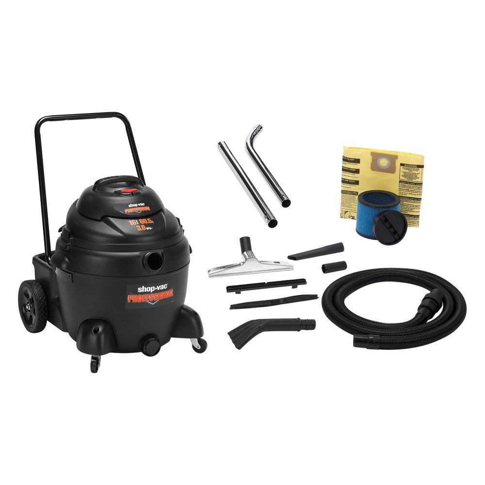 Shop Vac 9621610 16 Gallon Portable Shop Vacuum 3 0 Hp