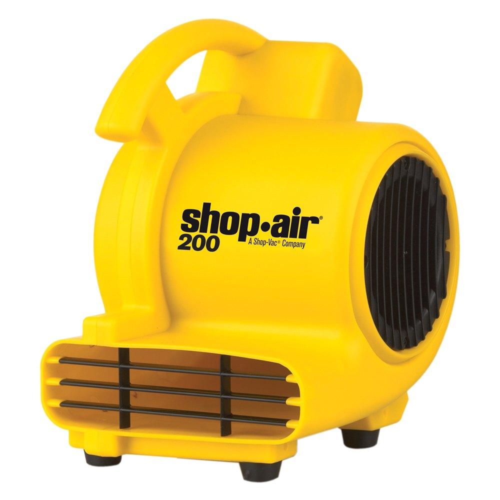 Portable Body Fans : Shop vac cfm portable air mover fan