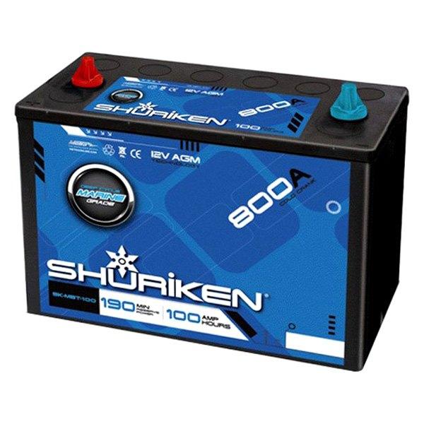 shuriken sk mbt 100 12v 100ah agm battery. Black Bedroom Furniture Sets. Home Design Ideas