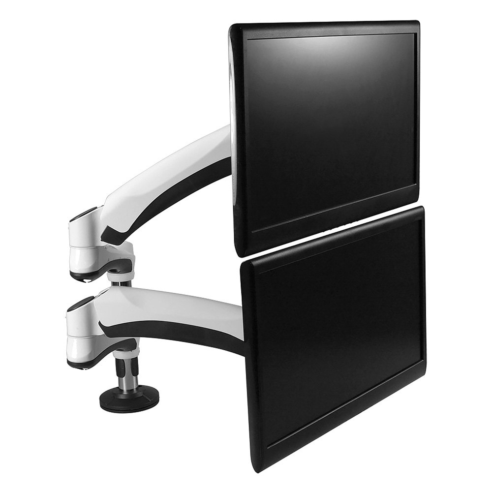 Siig CEMT1Q11S1 EasyAccess Full Motion Dual Monitor Desk Mount