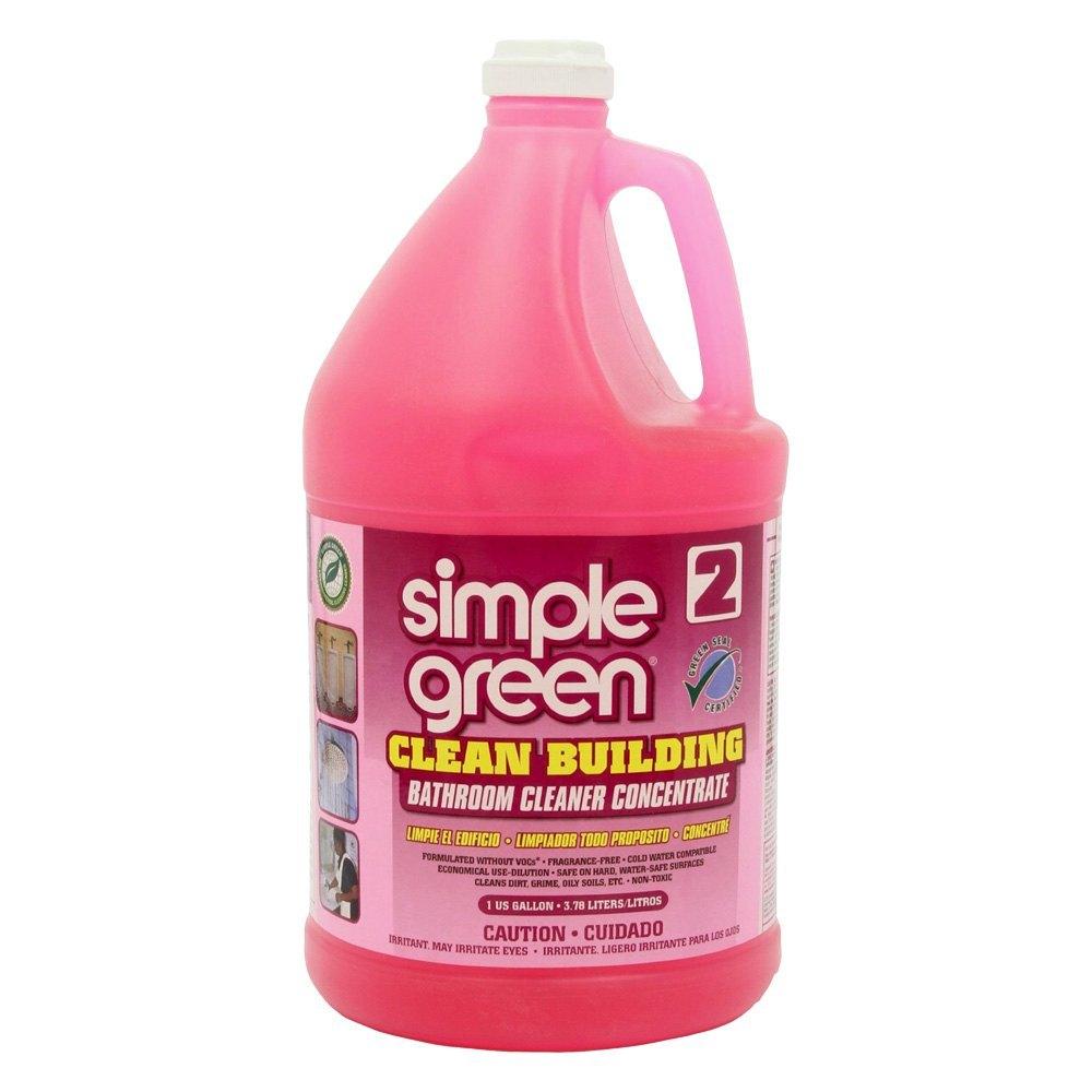 Green Bathroom Cleaners That Work: 1 Gal. Clean Building Bathroom