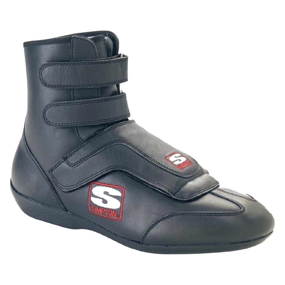 Simpson Racing Shoes >> Simpson Sp115bk Stealth Sprint Series Racing Shoes 11 5 Size Black