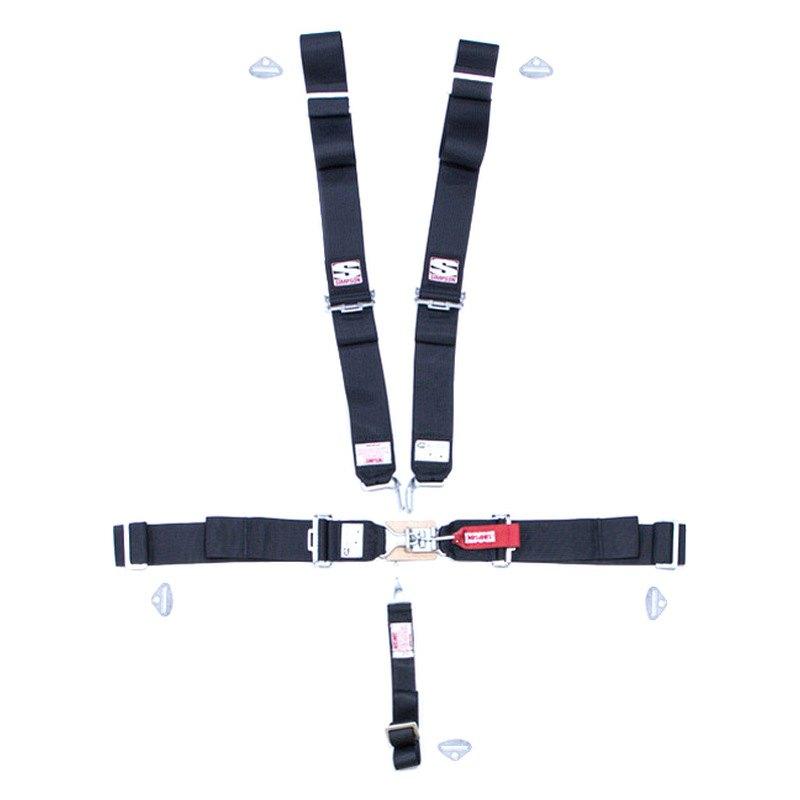 simpson 29043bk harness system. Black Bedroom Furniture Sets. Home Design Ideas