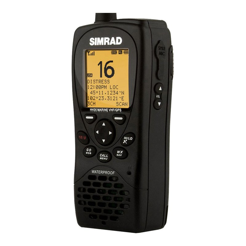 simrad 000 10785 001 hh36 handheld vhf radio. Black Bedroom Furniture Sets. Home Design Ideas