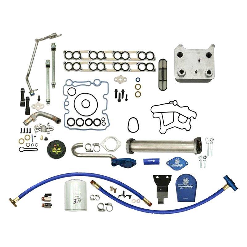 Sinister Diesel® SD-BS-6 0-EGRD-CF-UK-03 - Basic Solution Kit with EGR  Delete