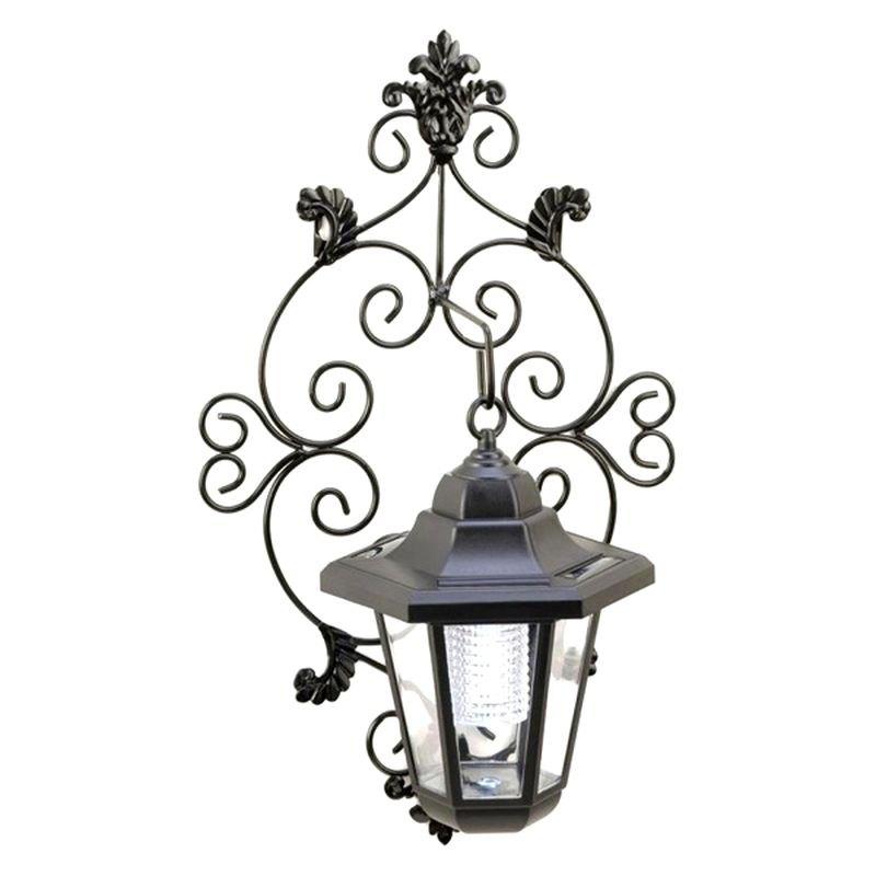 Smart Living 14256 - Gallery of Light Solar Garden Wall Lantern
