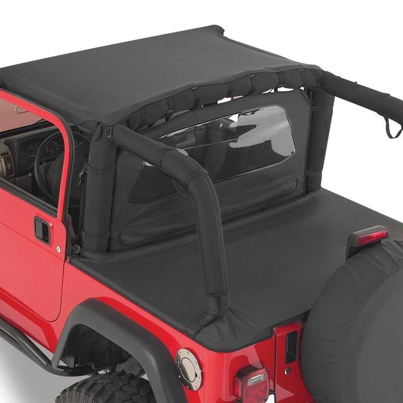 smittybilt jeep wrangler 1987 1995 wind breaker. Black Bedroom Furniture Sets. Home Design Ideas