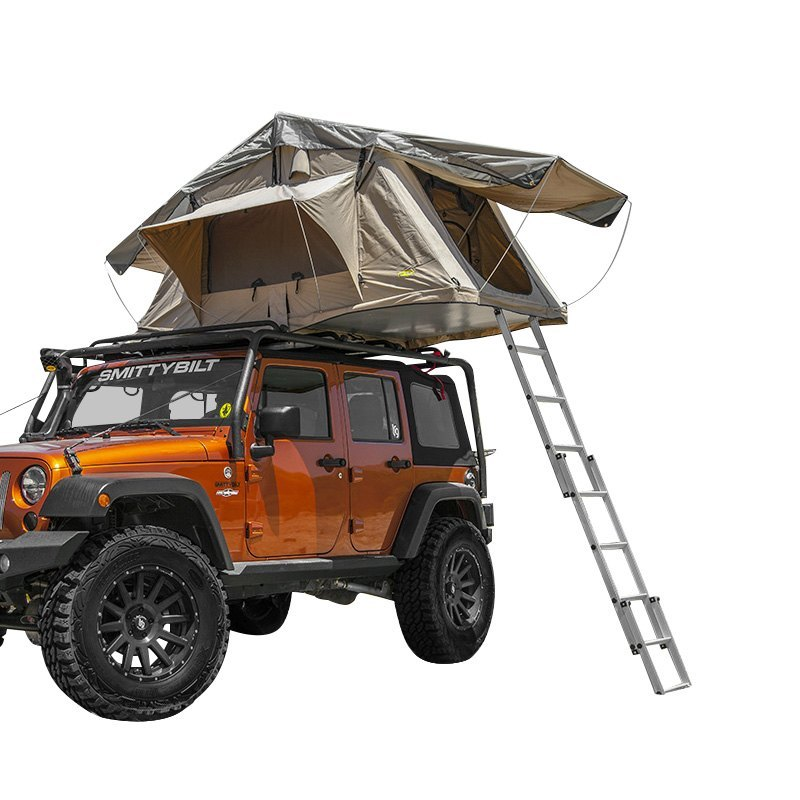 Smittybilt® - Overlander Coyote Tan 2 Person Roof TentSmittybilt® ...  sc 1 st  CARiD.com & Smittybilt® - Overlander Coyote Roof Tent memphite.com