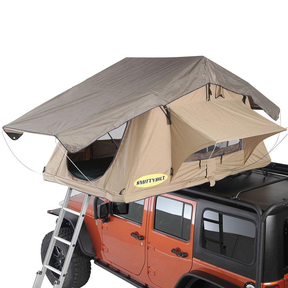 Smittybilt® - Overlander Coyote Tan 2 Person Roof Tent