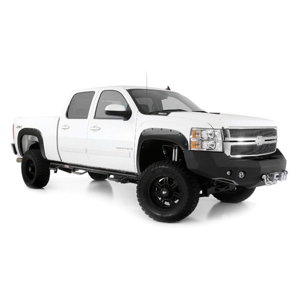 how to put fender flares on a truck