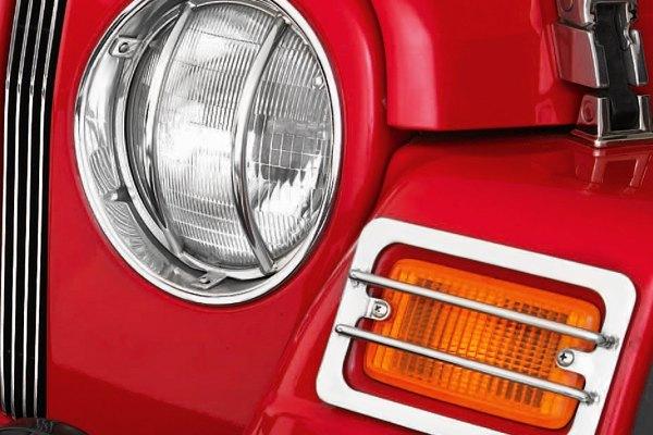 Canadian Tire Price Match >> Smittybilt® - Jeep TJ (Canadian-market Wrangler) / Wrangler 1998 Euro Headlight Guards