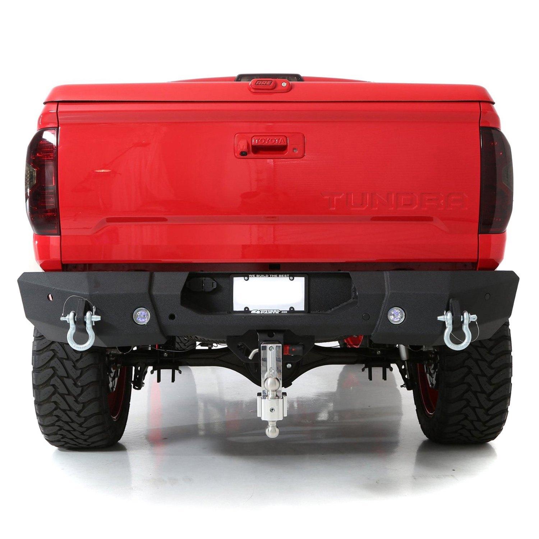 smittybilt 614840 m1 full width black rear hd bumper ebay. Black Bedroom Furniture Sets. Home Design Ideas