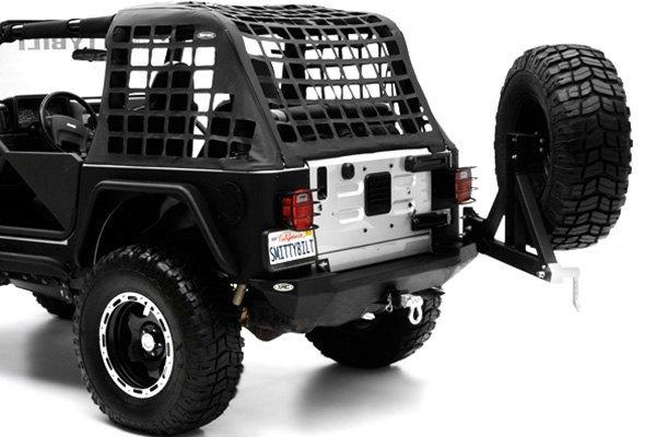 Smittybilt Xrc Rear Bumper >> For Jeep Wrangler 87-06 Smittybilt XRC Full Width Textured Black Rear HD Bumper | eBay