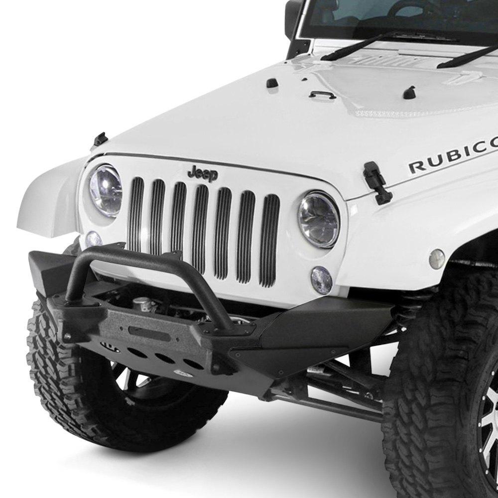 Jk Auto Repair >> For Jeep Wrangler JK 2018 Smittybilt 76829 XRC M.O.D. Black Bull Bar | eBay