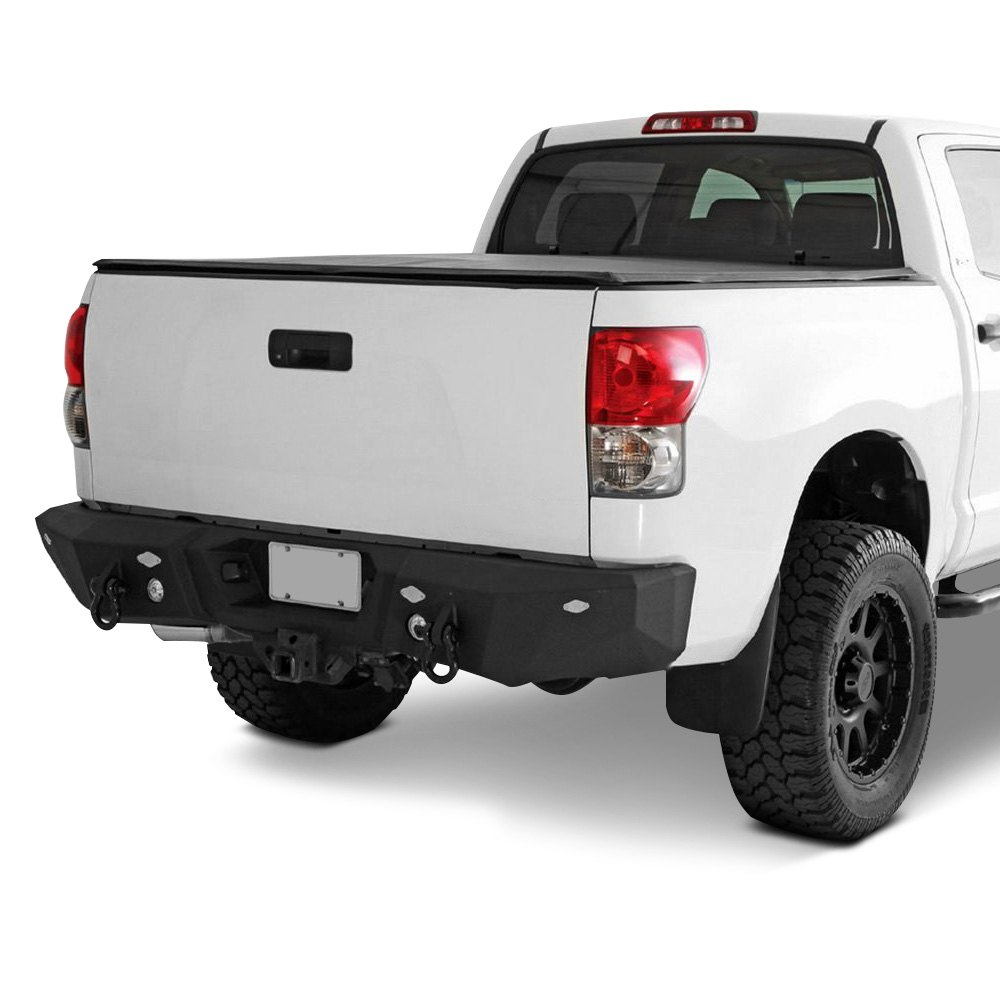 Smittybilt® - Chevy Silverado 2014-2015 M1 Full Width Black Rear HD Bumper
