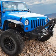 Smittybilt® - Front Bumper with Stinger and Winch