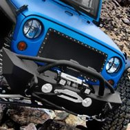 Smittybilt® -XRC Front Bumper with Stinger and Winch