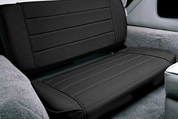 Smittybilt 41311 Denim Gray Fold and Tumble Rear Seat