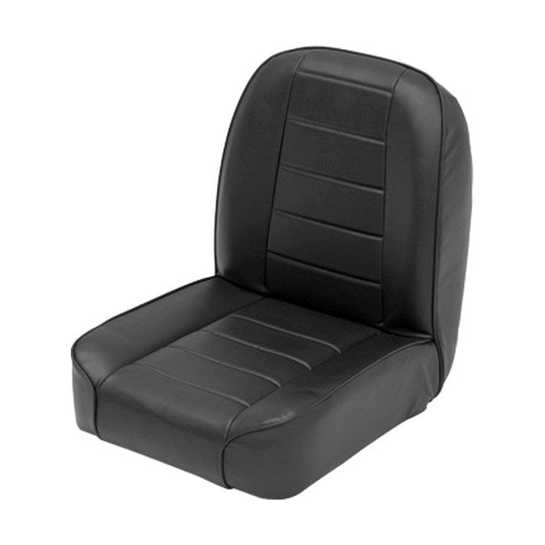 Smittybilt 174 44801 Low Back Bucket Black Front Seat