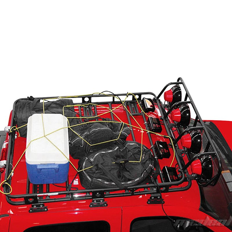 Smittybilt 174 40504 Defender Roof Cargo Basket Without