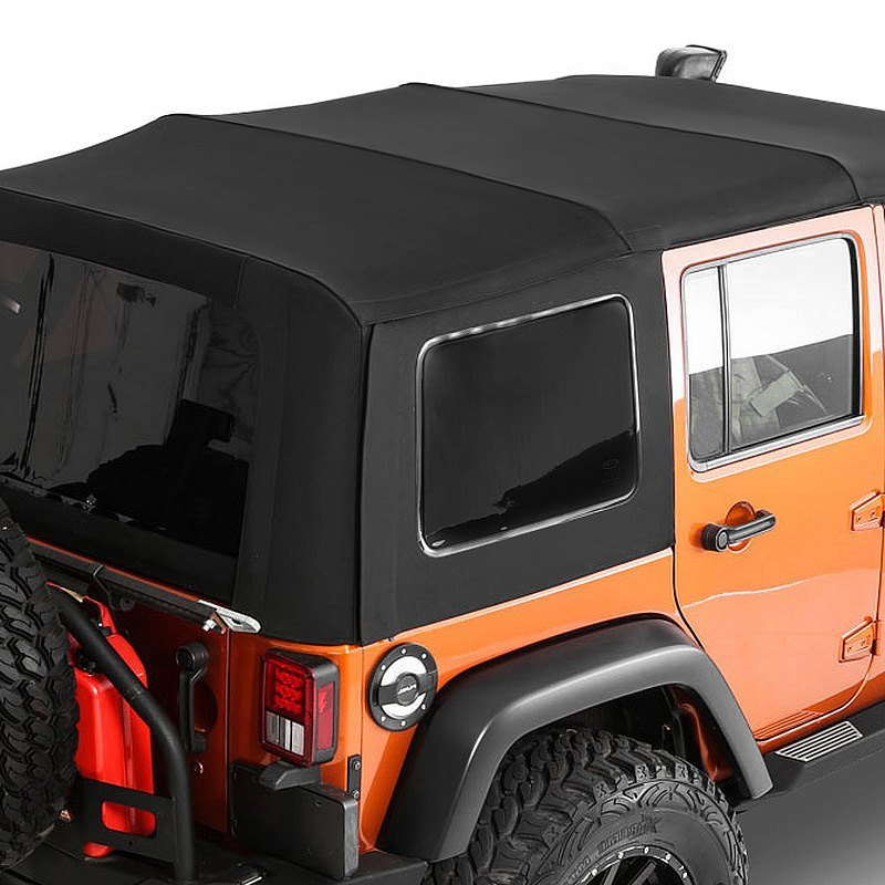 smittybilt jeep wrangler 2010 premium oem replacement canvas soft top with tinted windows. Black Bedroom Furniture Sets. Home Design Ideas