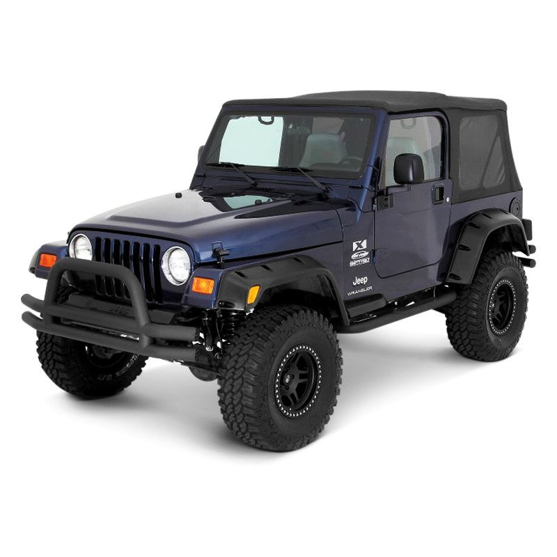smittybilt jeep wrangler 2005 premium oem replacement canvas soft top with tinted windows. Black Bedroom Furniture Sets. Home Design Ideas