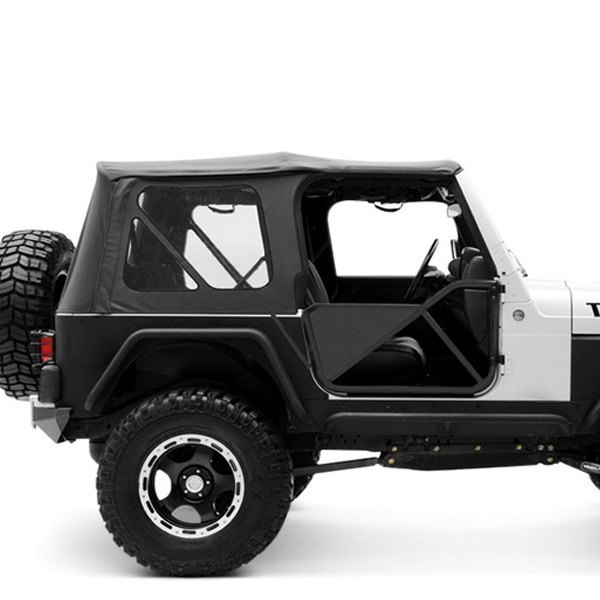 Jeep Wrangler Replacement Soft Top >> For Jeep Wrangler 97 06 Diamond Black Replacement Soft Top W Tinted