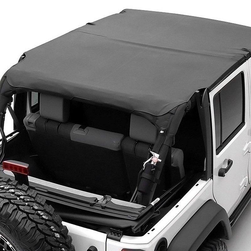 Smittybilt®   Outback Extended Black Diamond Bikini Top